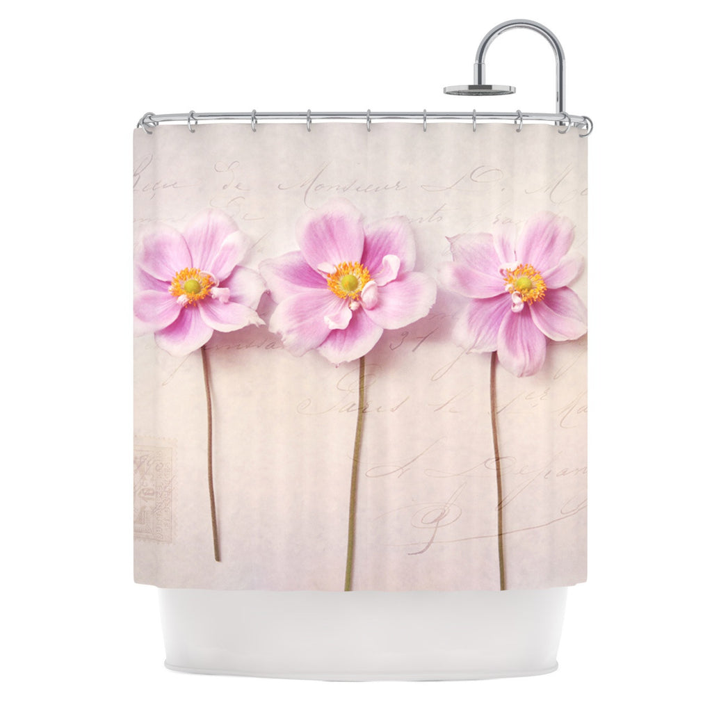 "Sylvia Cook ""Anemone Trio"" Shower Curtain - KESS InHouse"