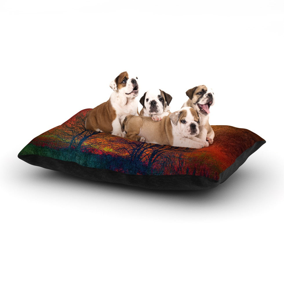 "Sylvia Cook ""Silhouettes"" Dog Bed - KESS InHouse  - 1"