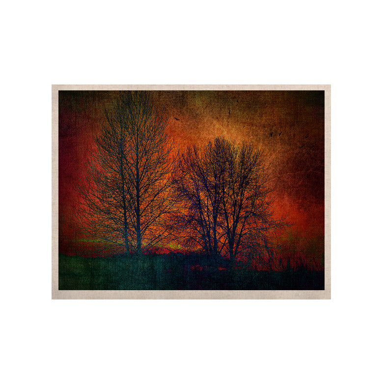 "Sylvia Cook ""Silhouettes"" KESS Naturals Canvas (Frame not Included) - KESS InHouse  - 1"