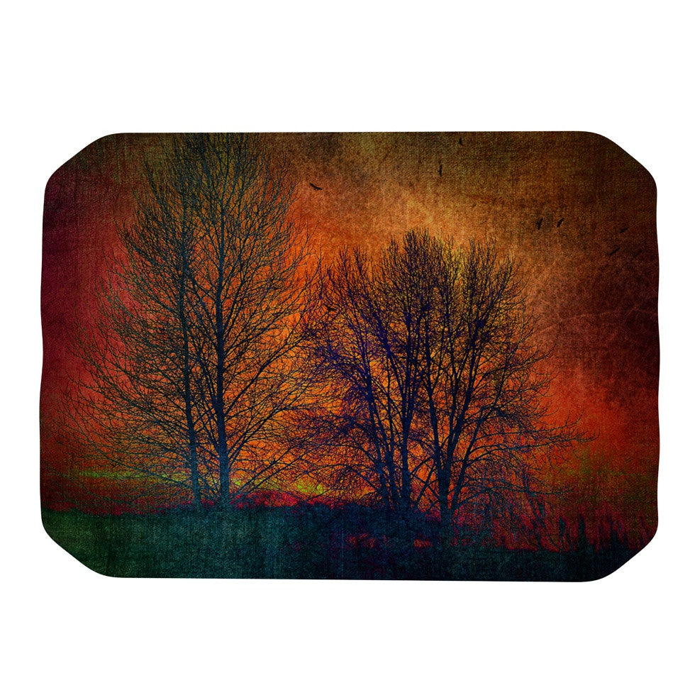 "Sylvia Cook ""Silhouettes"" Place Mat - KESS InHouse"