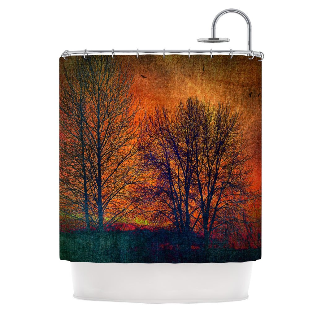 "Sylvia Cook ""Silhouettes"" Shower Curtain - KESS InHouse"