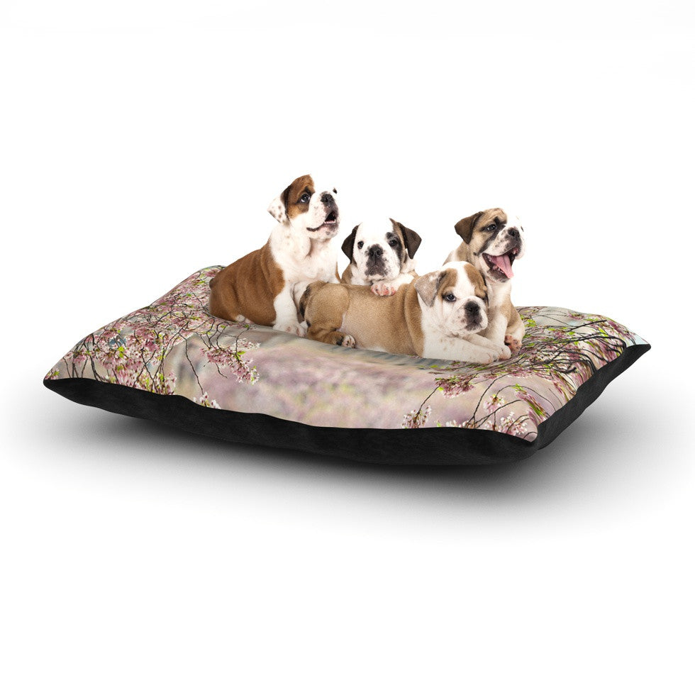 "Sylvia Cook ""Pink Dream"" Dog Bed - KESS InHouse  - 1"