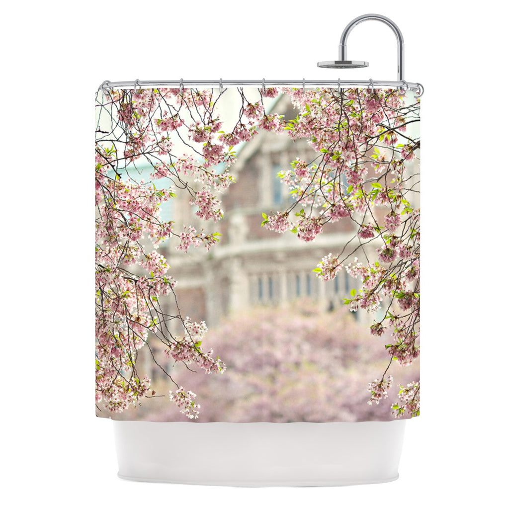 "Sylvia Cook ""Pink Dream"" Shower Curtain - KESS InHouse"