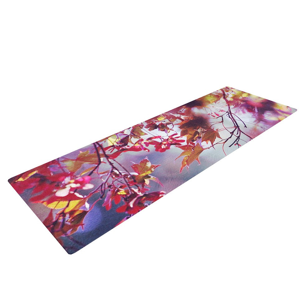 "Sylvia Cook ""Autumn"" Yoga Mat - KESS InHouse  - 1"