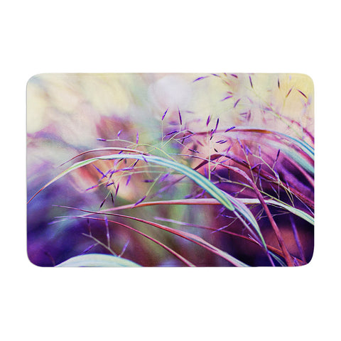 "Sylvia Cook ""Pretty Grasses"" Memory Foam Bath Mat - KESS InHouse"
