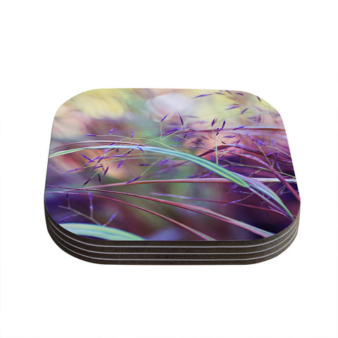 "Sylvia Cook ""Pretty Grasses"" Coasters (Set of 4)"