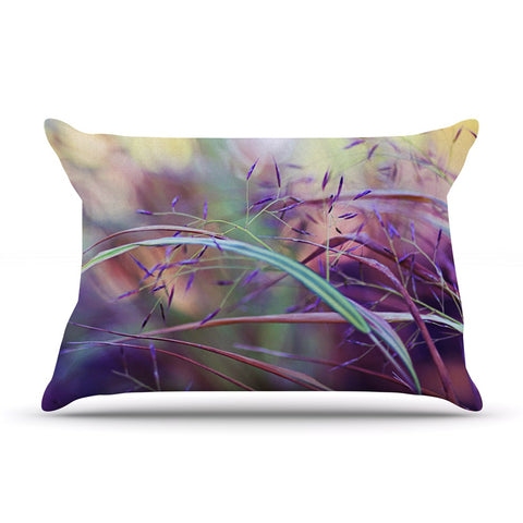 "Sylvia Cook ""Pretty Grasses"" Pillow Sham - KESS InHouse"
