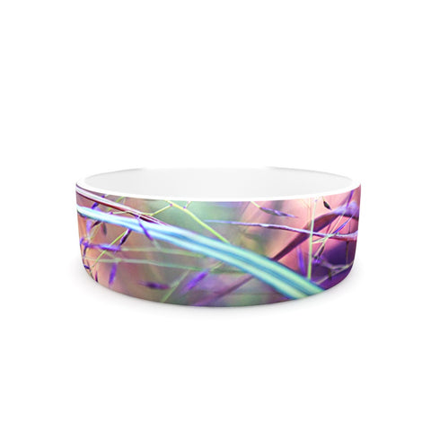 "Sylvia Cook ""Pretty Grasses"" Pet Bowl - KESS InHouse"