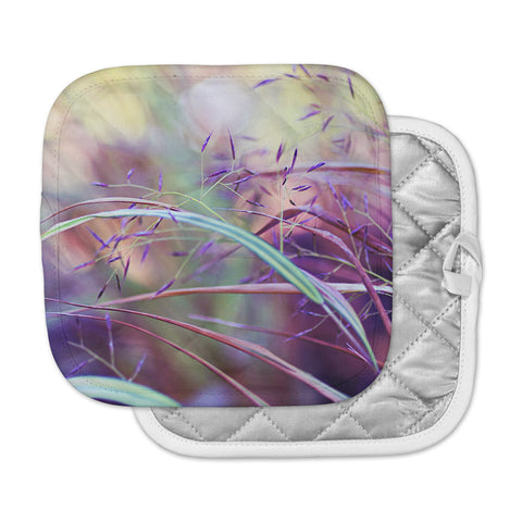 "Sylvia Cook ""Pretty Grasses"" Pot Holder"