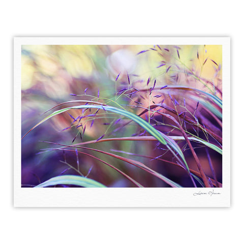"Sylvia Cook ""Pretty Grasses"" Fine Art Gallery Print - KESS InHouse"