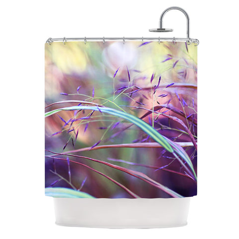 "Sylvia Cook ""Pretty Grasses"" Shower Curtain - KESS InHouse"