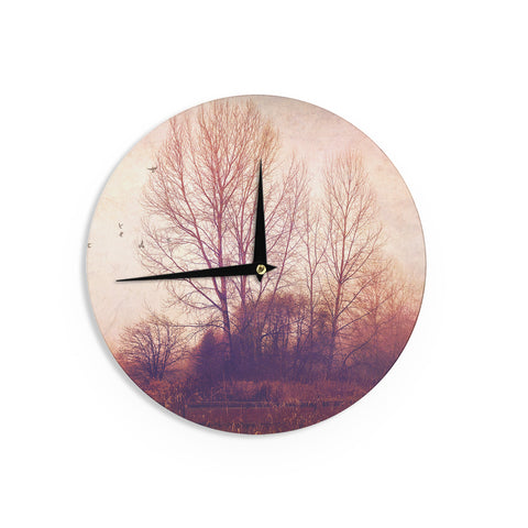 "Sylvia Cook ""Explore"" Wall Clock - KESS InHouse"