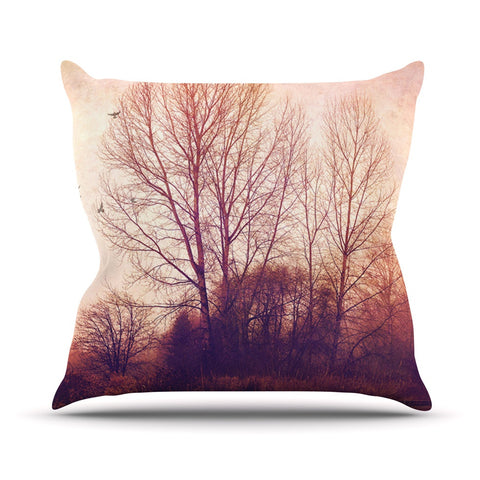 "Sylvia Cook ""Explore"" Throw Pillow - KESS InHouse  - 1"
