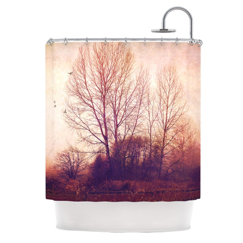 "Sylvia Cook ""Explore"" Shower Curtain - KESS InHouse"