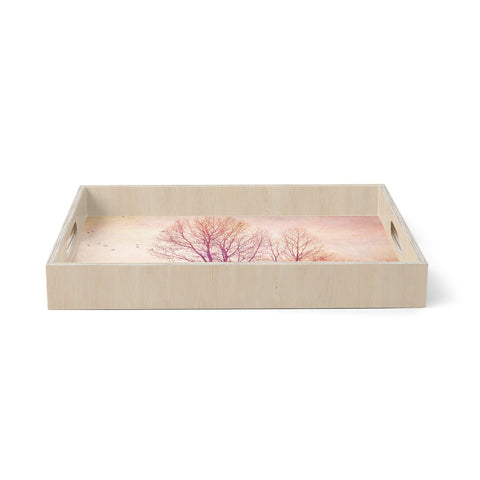 "Sylvia Cook ""Explore""  Birchwood Tray"