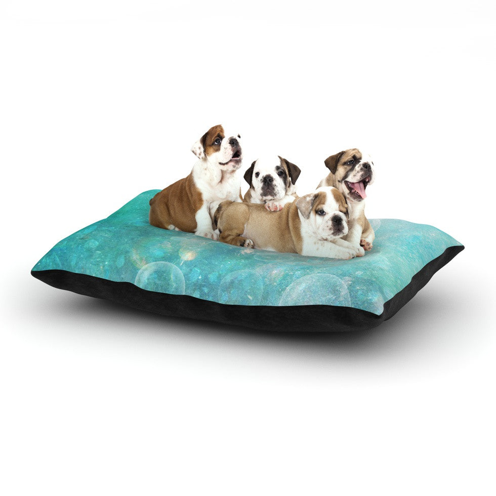 "Sylvia Cook ""Happily Ever After"" Dog Bed - KESS InHouse  - 1"