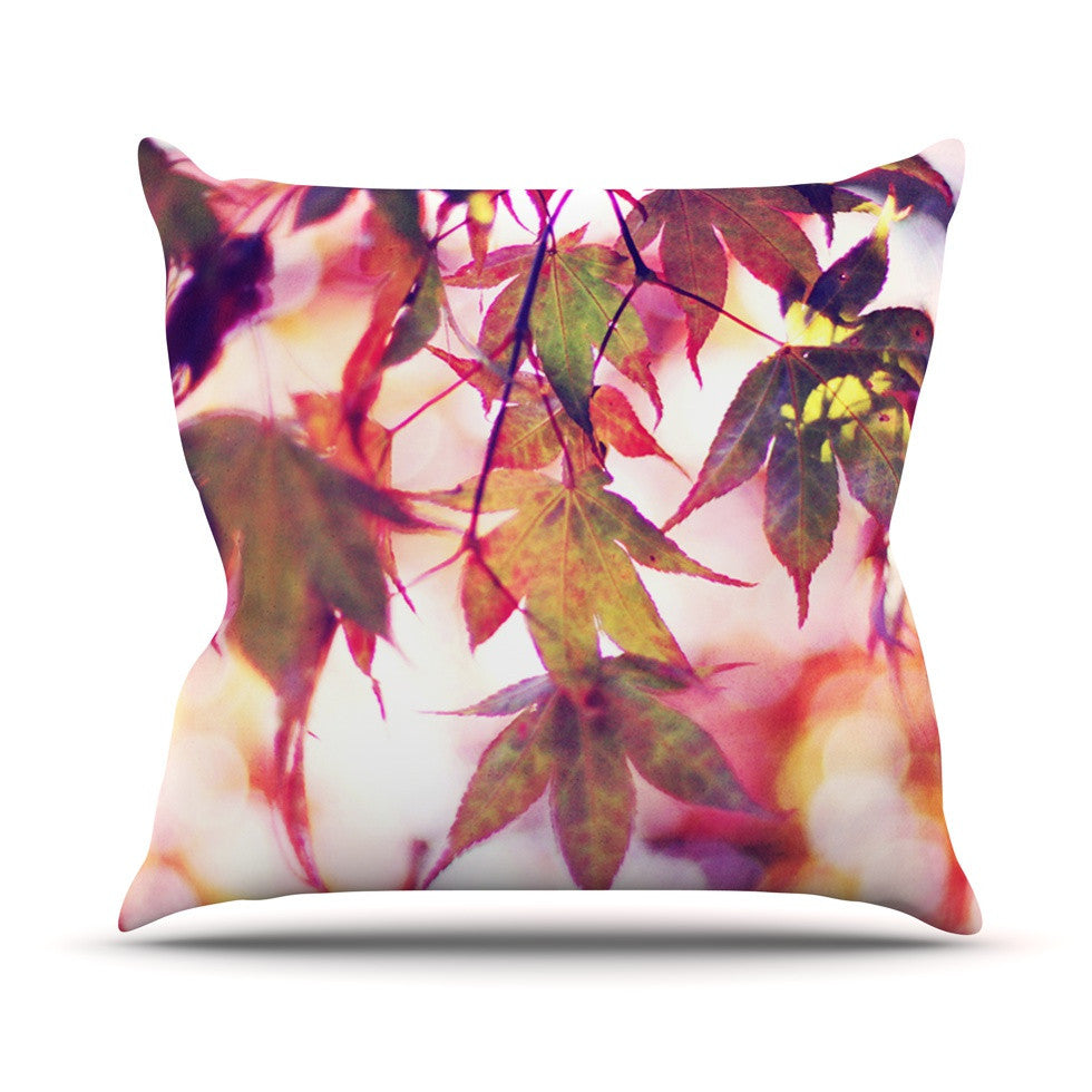 "Sylvia Cook ""On Fire"" Outdoor Throw Pillow - KESS InHouse  - 1"
