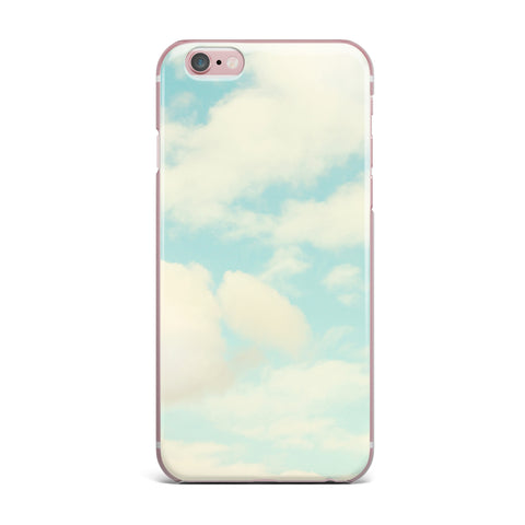 "Sylvia Cook ""Clouds"" Blue White iPhone Case - KESS InHouse"