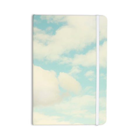"Sylvia Cook ""Clouds"" Blue White Everything Notebook - KESS InHouse  - 1"