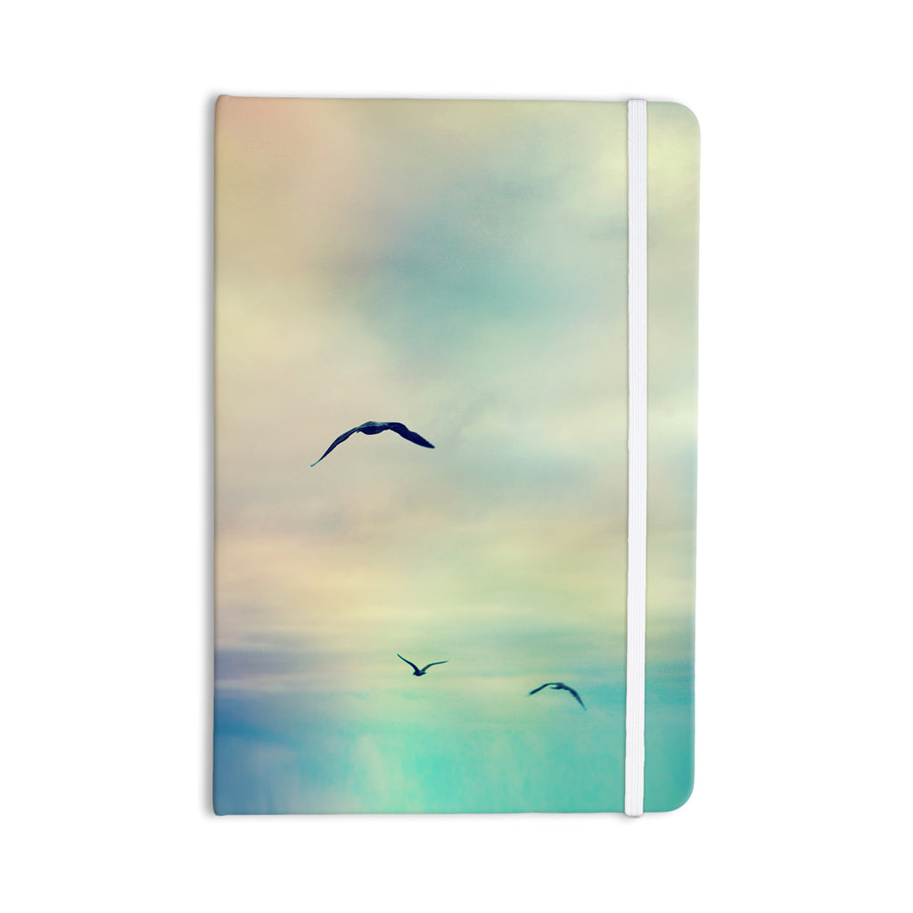 "Sylvia Cook ""Freedom"" Birds Sky Everything Notebook - KESS InHouse  - 1"