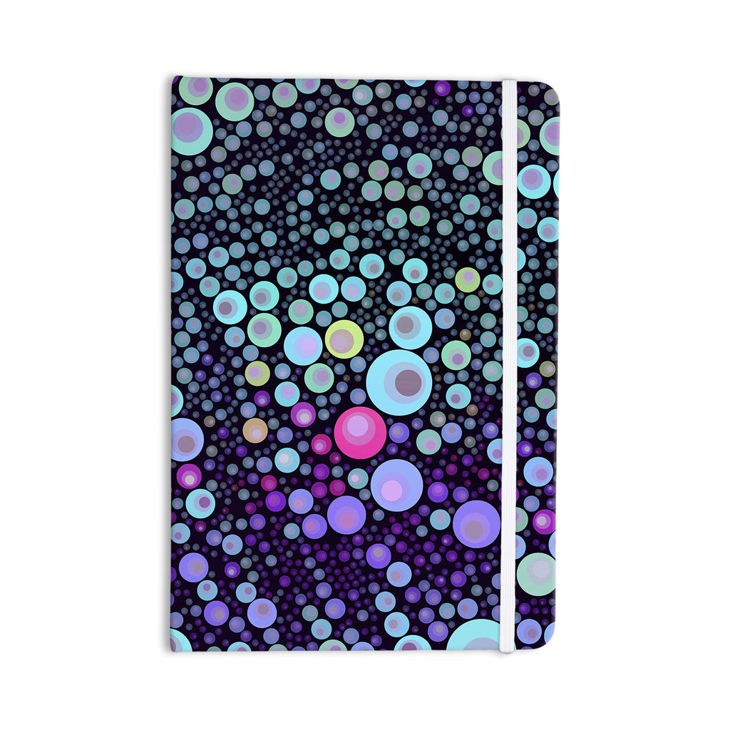 "Sylvia Cook ""Deep Blue"" Purple Aqua Everything Notebook - KESS InHouse  - 1"
