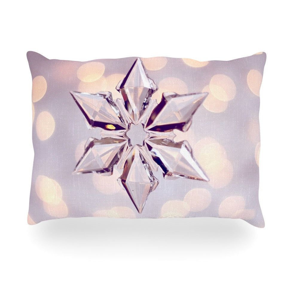 "Sylvia Cook ""Starbright"" Holiday Oblong Pillow - KESS InHouse"