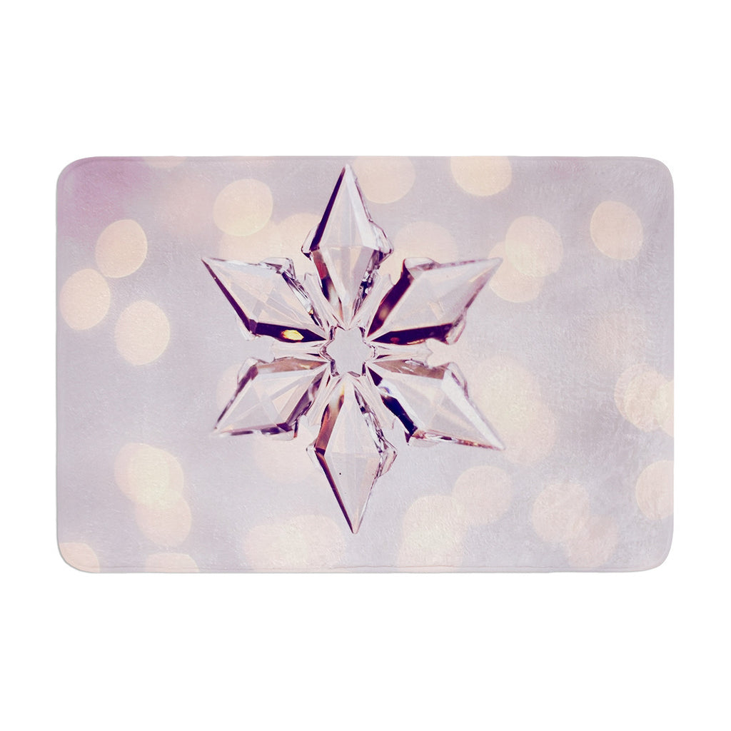 "Sylvia Cook ""Starbright"" Holiday Memory Foam Bath Mat - KESS InHouse"