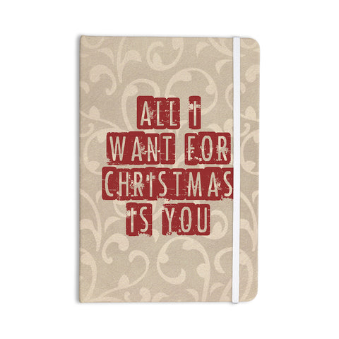 "Sylvia Cook ""All I Want For Christmas"" Holiday Everything Notebook - KESS InHouse  - 1"