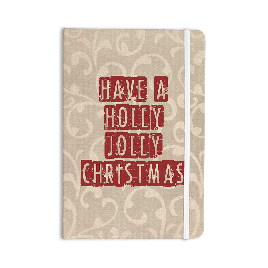 "Sylvia Cook ""Have A Holly Jolly Christmas"" Holiday Everything Notebook - KESS InHouse  - 1"