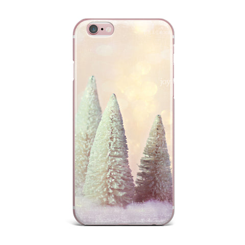 "Sylvia Cook ""Bottle Brush Trees"" Pink iPhone Case - KESS InHouse"