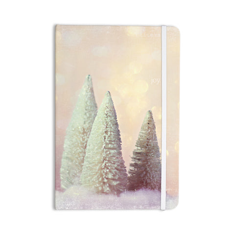 "Sylvia Cook ""Bottle Brush Trees"" Pink Everything Notebook - KESS InHouse  - 1"