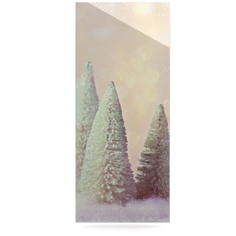 "Sylvia Cook ""Bottle Brush Trees"" Pink Luxe Rectangle Panel - KESS InHouse  - 1"