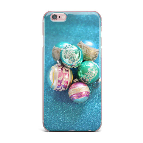 "Sylvia Cook ""Vintage Glass"" Blue iPhone Case - KESS InHouse"