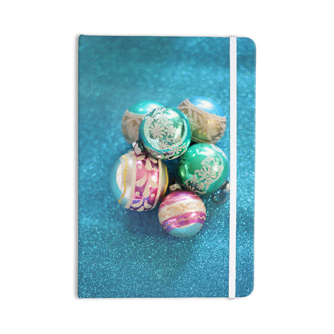 "Sylvia Cook ""Vintage Glass"" Blue Everything Notebook - KESS InHouse  - 1"