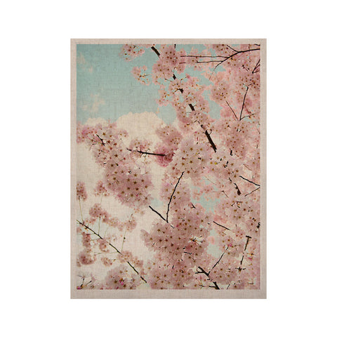 "Sylvia Cook ""Spring Beauty"" Pink Blue KESS Naturals Canvas (Frame not Included) - KESS InHouse  - 1"