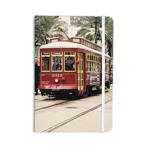 "Sylvia Cook ""Canal Street Car"" Travel Urban Everything Notebook - KESS InHouse  - 1"