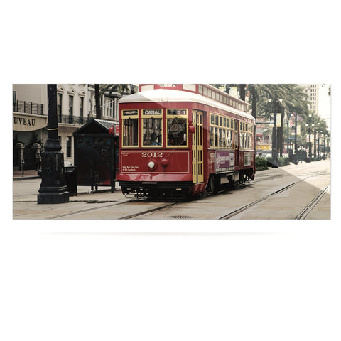 "Sylvia Cook ""Canal Street Car"" Travel Urban Luxe Rectangle Panel - KESS InHouse  - 1"