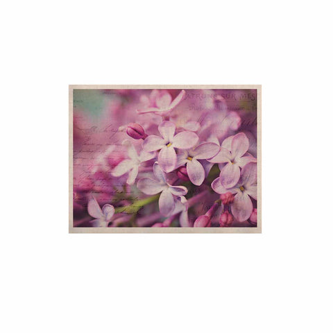 "Sylvia Cook ""French Lilacs"" Purple Photography KESS Naturals Canvas (Frame not Included) - KESS InHouse  - 1"