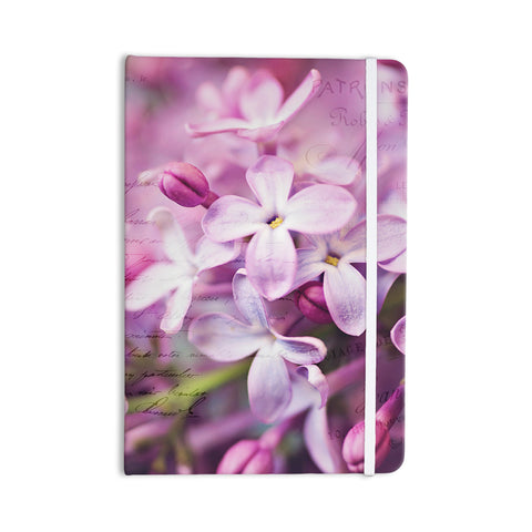 "Sylvia Cook ""French Lilacs"" Purple Photography Everything Notebook - KESS InHouse  - 1"