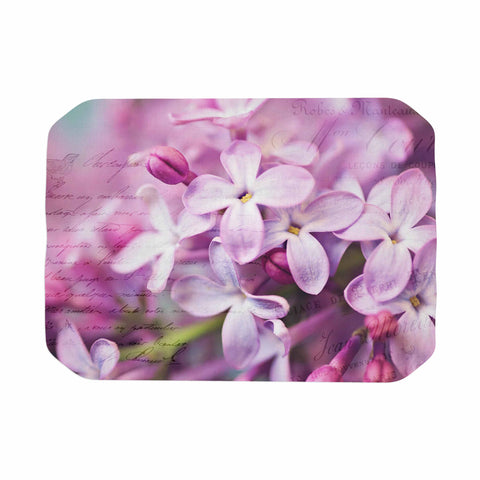 "Sylvia Cook ""French Lilacs"" Purple Photography Place Mat - KESS InHouse"