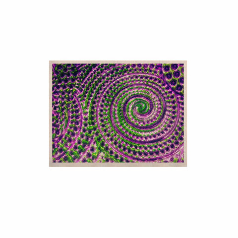 "Sylvia Cook ""Color Inspiration"" Green Purple KESS Naturals Canvas (Frame not Included) - KESS InHouse  - 1"