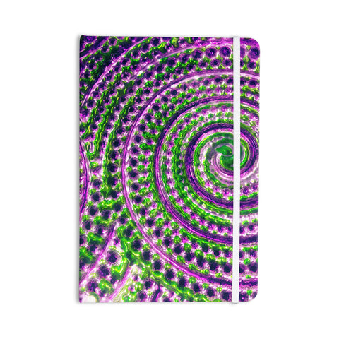 "Sylvia Cook ""Color Inspiration"" Green Purple Everything Notebook - KESS InHouse  - 1"