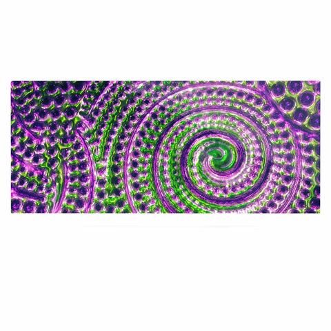 "Sylvia Cook ""Color Inspiration"" Green Purple Luxe Rectangle Panel - KESS InHouse  - 1"