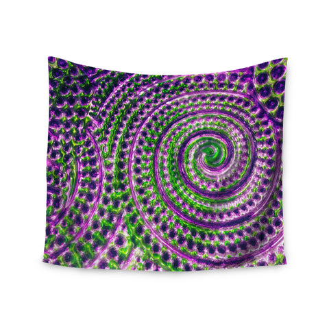 "Sylvia Cook ""Color Inspiration"" Green Purple Wall Tapestry - KESS InHouse  - 1"