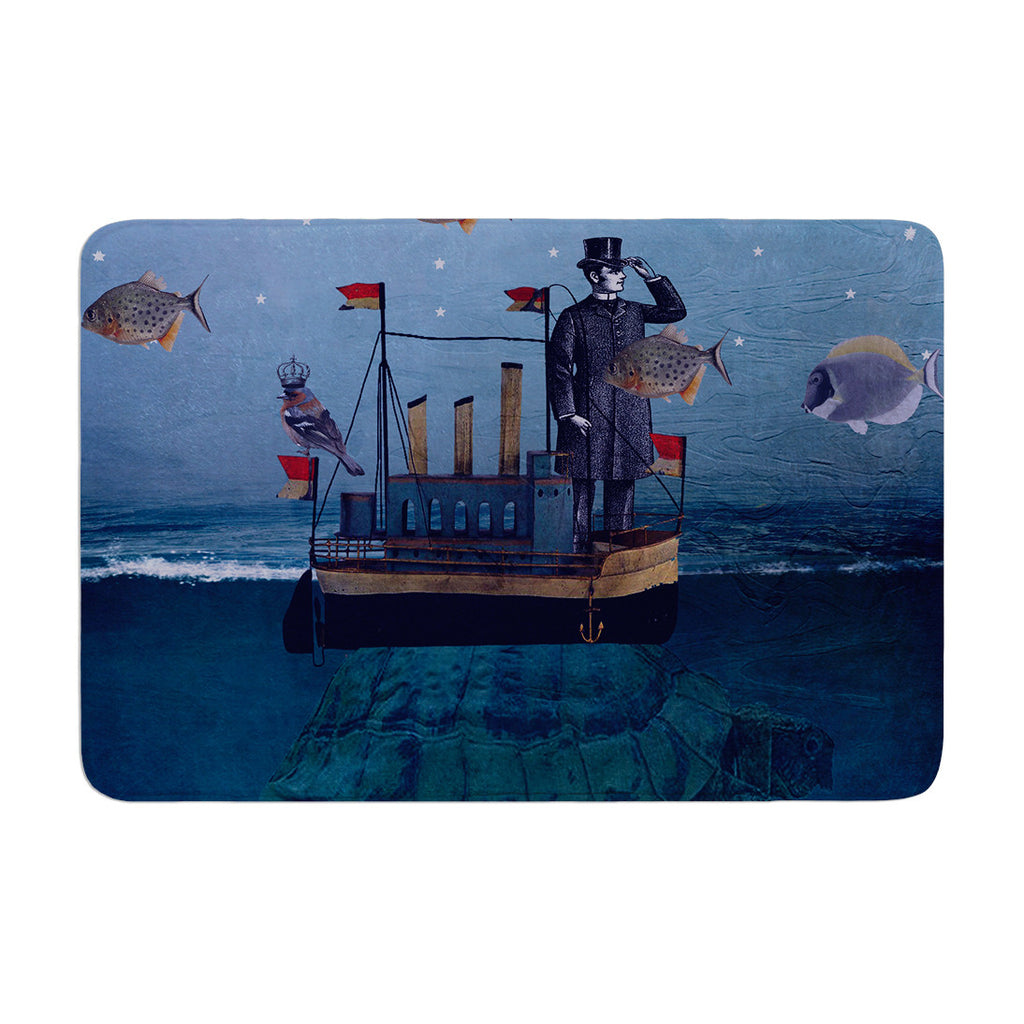 "Suzanne Carter ""The Voyage"" Memory Foam Bath Mat - KESS InHouse"