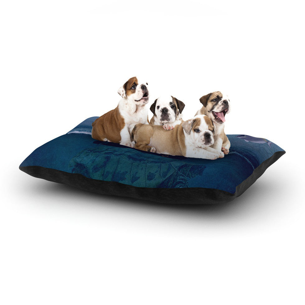 "Suzanne Carter ""The Voyage"" Dog Bed - KESS InHouse  - 1"