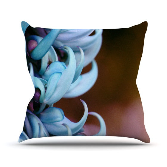 "Suzanne Carter ""Bloom"" Throw Pillow - KESS InHouse  - 1"