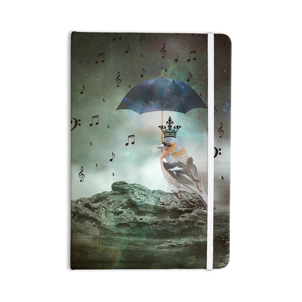 "Suzanne Carter ""Umbrella Bird"" Everything Notebook - KESS InHouse  - 1"