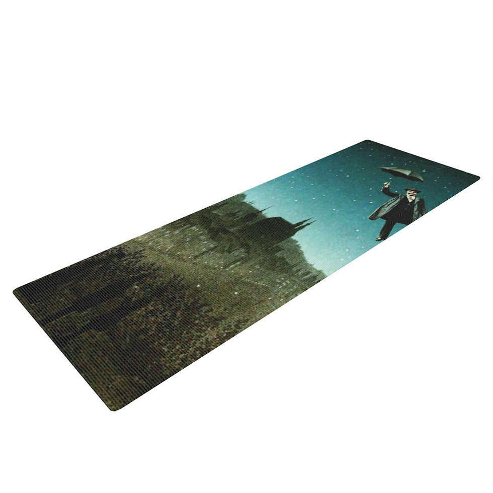 "Suzanne Carter ""The Departure"" Yoga Mat - KESS InHouse  - 1"