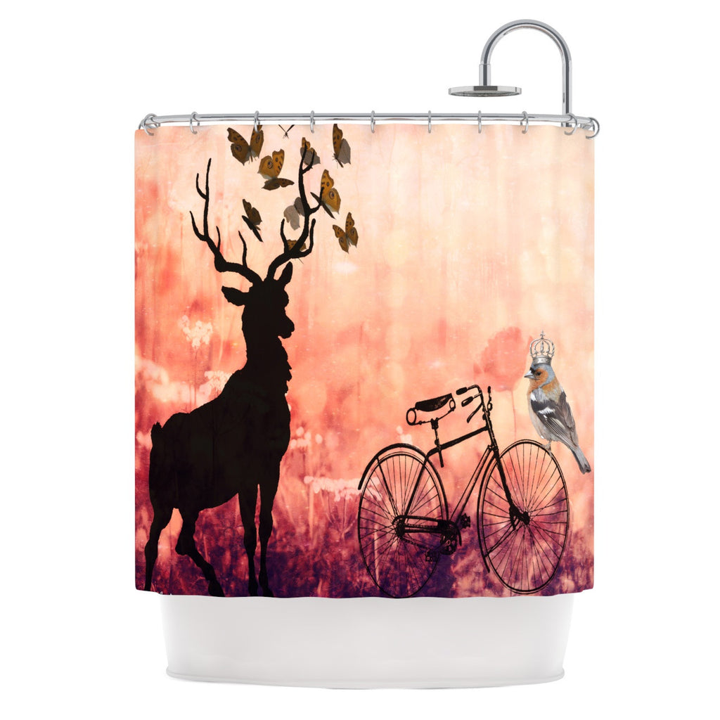 "Suzanne Carter ""Vintage Forest"" Shower Curtain - KESS InHouse"